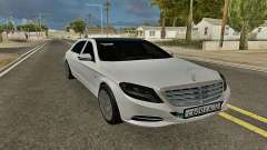 Mercedes-Maybach S600 X222 Exclusive for GTA San Andreas