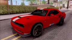 Dodge Challenger Hellcat Consept for GTA San Andreas