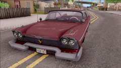 Plymouth Belvedere 1958 HQLM for GTA San Andreas
