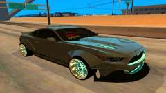 Ford Mustang Azure Inferno for GTA San Andreas
