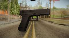 Glock 17 3 Dot Sight Blue for GTA San Andreas