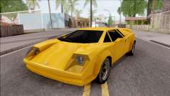 Infernus 1986 for GTA San Andreas
