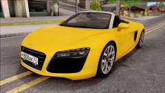 Audi R8 Cabriolet for GTA San Andreas