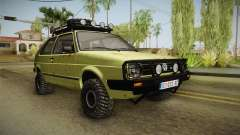 Volkswagen Golf Mk2 Country for GTA San Andreas