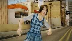 Pinky Gauthier form Bully Scholarship v1 for GTA San Andreas