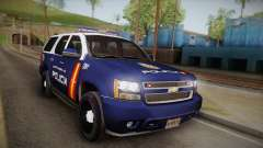 Chevrolet Tahoe Spanish Police for GTA San Andreas
