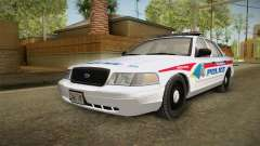 Ford Crown Victoria PI YRP for GTA San Andreas