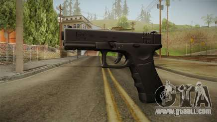 Glock 18 3 Dot Sight Ultraviolet Indigo for GTA San Andreas