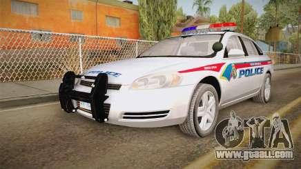 Chevrolet Impala 2006 YRP for GTA San Andreas