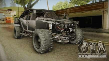 Ghost Recon Wildlands - Unidad AMV No Minigun v1 for GTA San Andreas