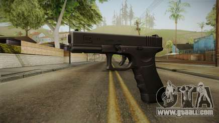 Glock 17 3 Dot Sight for GTA San Andreas