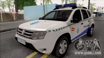 Renault Duster Spanish Police for GTA San Andreas