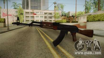 GTA 5 Gunrunning AK47 for GTA San Andreas