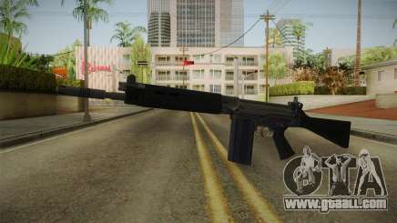 FN FAL Short Barrel for GTA San Andreas