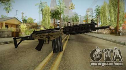 DSA FAL Camo Variant for GTA San Andreas