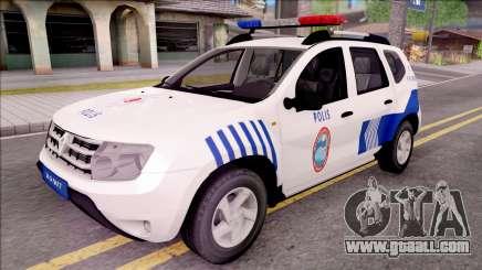 Renault Duster Turkish Police Patrol Car for GTA San Andreas