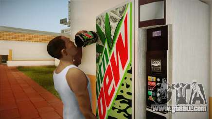 New vending machines with Mountain Dew for GTA San Andreas