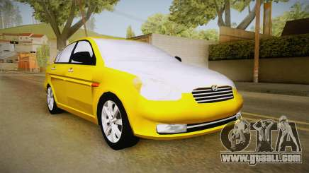 Hyundai Accent 2011 for GTA San Andreas