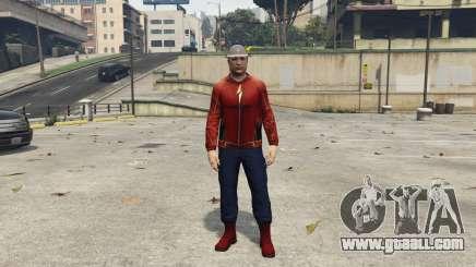 Real Jay Garrick (Earth-3) 1.1 for GTA 5