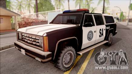 Police Rancher 4 Doors for GTA San Andreas