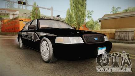 Ford Crown Victoria PI Stealth YRP for GTA San Andreas