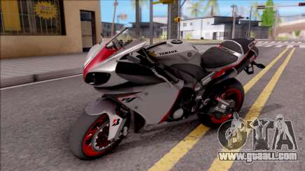 Yamaha YZF-R1 Stickers for GTA San Andreas