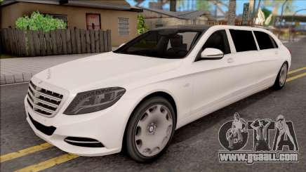 Mercedes-Maybach S600 Pullman for GTA San Andreas