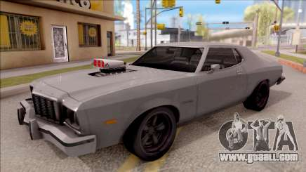 Ford Gran Torino 1975 v2 silver for GTA San Andreas