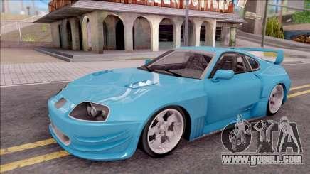 Toyota Supra MK4 NFSUC Tuning for GTA San Andreas