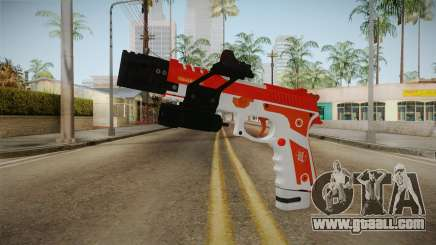 Gunrunning Pistol v2 for GTA San Andreas