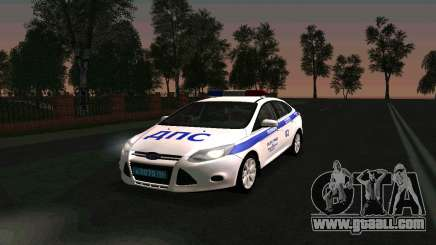 Ford Focus Police for GTA San Andreas