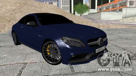 Mercedes-Benz C63 Coupe Rashid Edition for GTA San Andreas