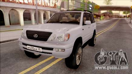 Lexus LX470 2003 for GTA San Andreas