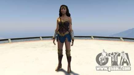 Wonder Woman 2017 1.2 for GTA 5