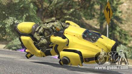 Sci-Fi Hover Bike 1.1b for GTA 5