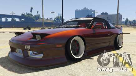 Nissan 240SX BN Sports III for GTA 5
