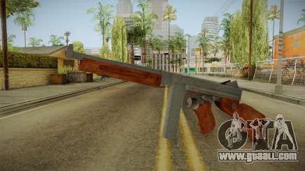 Thompson M1A1 for GTA San Andreas