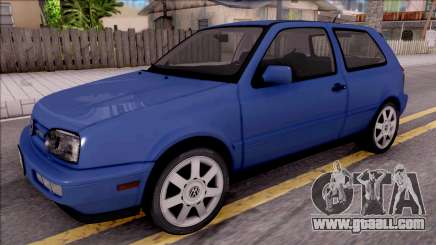 Volkswagen Golf GTI VR6 1998 for GTA San Andreas