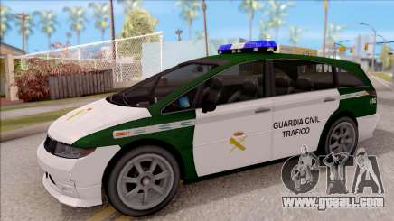 Dinka Perennial MPV Spanish Police for GTA San Andreas