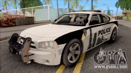 Dodge Charger Los Santos Police Department 2010 for GTA San Andreas