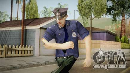 Driver PL Police Officer v3 for GTA San Andreas