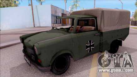 Trabant 601 German Military Pickup for GTA San Andreas