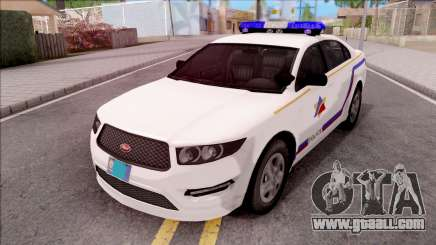 Vapid Police Interceptor Hometown PD 2012 for GTA San Andreas