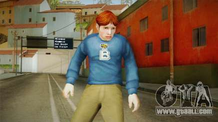 Dan Wilson from Bully Scholarship for GTA San Andreas