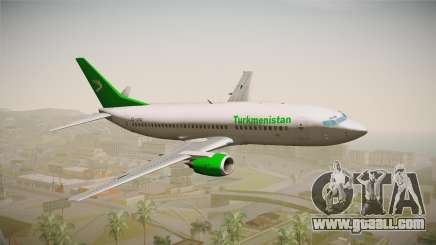 Boeing 737-300 Turkmenistan Airlines for GTA San Andreas