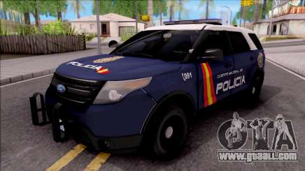 Ford Explorer Spanish Police for GTA San Andreas