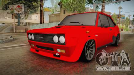 Fiat 131 Abarth for GTA San Andreas