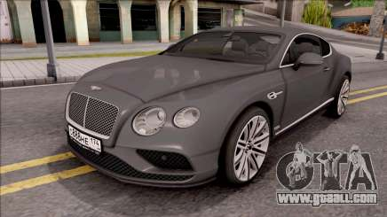 Bentley Сontinental GT for GTA San Andreas