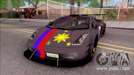 Lamborghini Gallardo Philippines v2 for GTA San Andreas