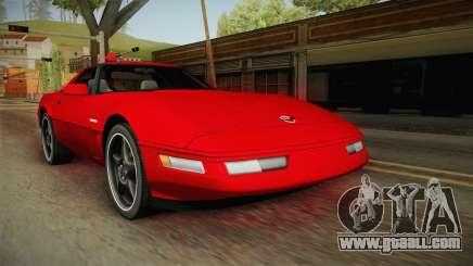 Chevrolet Corvette C4 FBI 1996 for GTA San Andreas